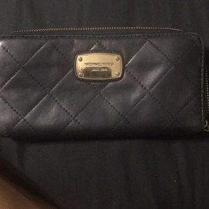 Quilted Mk Wallet